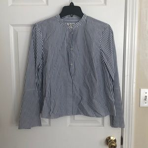 Madewell Striped Blouse Never Worn W Tag Size M
